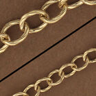 14kt Gold Filled Patterned Chain Gold Filled Oval Chain Gold Chain Foot GF4555