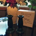 ~ 2 Fiesta Retired Juniper Candlesticks Holders 1st nice  New  ~ Great Gift!