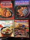 4 Weight Watchers Cookbooks Meals In Minutes Quick  Easy Menu Favorite Recipes
