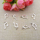 Wholesale 15pcs Tibet Silver Musical Note Charm Pendant Beaded Jewelry 135