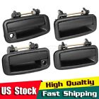 Set 4pcs For 1989 1992 GEO PRIZM Exterior Outer Left Right Door Handle