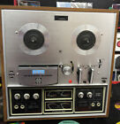 AKAI 1730D SS QUADRAPHONIC Stereo Reel To Reel Working Condition