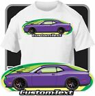 Custom Art T-Shirt for 2008-2016 Dodge SRT-8 R/T SE Challenger Hellcat Detonator