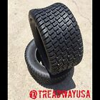 (2) Two New 18x8.50-8 Deestone D838 4 Ply Turf Master Turf Mower Tires DS7118