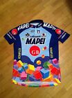 RARE VINTAGE CYCLING SHIRT JERSEY 1995 MAPEI GB SPORTFUL LATEXCO COLNAGO SIZE XL