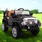 12V Jeep style Kids Ride on Truck Battery Powered Electric Car W Remote Control