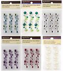 RECOLLECTIONS Adhesive Rhinestone Pearl Cluster Embellishments CHOOSE ONE