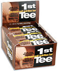 1st Tee Pre Round Golf Nutrition Bars 12 Pack Choclate Peanut New