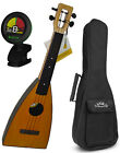 Magic Fluke Natural Finish M10 Australian Hoop Pine Ukulele Bundle w Bag