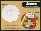Creative Imaginations Chipboard Donner Ornament Frame