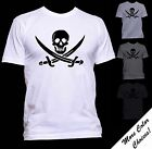 Jolly Roger Classic Pirate Flag T shirt New More Color Choices