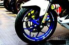 Wheel Sticker For Honda YAMAHA MT03 Front Rear Wheel Wide Rim Stripes Full Set