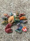 TY Beanie Babies Baby - Claude the Crab Tye Dye, MINT CONDITION