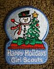 Girl Scouts Of America Happy Holidays 1 Girl Scout Patch