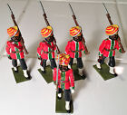 Lot (5) Steadfast Lead Toy Soldiers - England - NM/MT