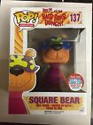 Funko POP! Hair Bear Bunch Square Bear 2016 NYCC Exclusive Comic Con Small Dent