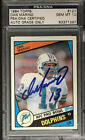 DAN MARINO SIGNED 1984 TOPPS ROOKIE CARD RC #123 PSA GRADED 10 AUTOGRAPH