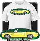Custom Art T Shirt for 69 1969 Chevrolet Camaro RS SS 396 Convertible COPO Z28