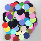 300 Circle Die Cuts 1 Assorted Colors Cardstock Paper Circles Punchies Punched