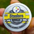 PREMIUM NFL Pittsburgh Steelers Poker Chip Card Protector Coin Golf Marker