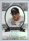 2012 Leaf Metal Poker Mike Matusow Refractor Auto # 11 25 Autograph