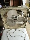 Airmaster Mid Century Vintage Box Fan Window Thermostat Controlled 3 Sp W Rev