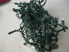 Vintage Old Fashioned Christmas Strings Lights White Color USED