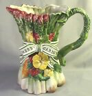 Fitz and Floyd Herb Garden 1 1/4 quart Pitcher (perfect condition)