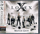 LOVEX Watch Out! TOCP-71093 CD JAPAN 2011 NEW