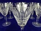 WATERFORD CRYSTAL Maeve Tramore Claret Wine Goblets 6 1 2 Tall IRELAND