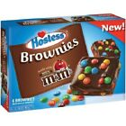Hostess Brownies Made with Milk Chocolate M&M's