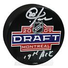 Chris Kreider New York Rangers Signed Autographed 19th Pick 2009 Draft Puck