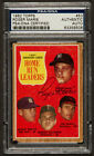 Roger Maris Signed card 1962 Topps AL Home Run Leaders #53 PSA Authentic
