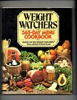 Weight Watchers 365 Day Menu Cookbook Hardcover w DJ 1981 1st Ed 1st Printing