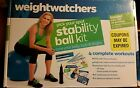 Weight Watchers Ultimate Belly Kit DVD Abs Workout with Mini Stability Ball