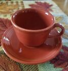 Fiestaware Paprika Cup and Saucer New
