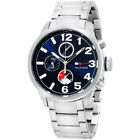 Tommy Hilfiger Jackson Blue Dial Stainless Steel Men's Watch 1791242