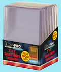 180pt 130pt Combo Ultra Pro 3 x 4 Super Thick Toploaders Lot 1 Pack Each