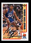 AWESOME MAGIC JOHNSON AUTO 1991-92 SKYBOX SCOREBOARD COA AUTHENTIC SEAL UD #464