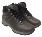 Mens Khombu Ravine All Weather All Terrain Hiker Boots Brown Leather Variety