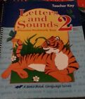 A Beka Letters and Sounds 2 Phonics Seat work Text Teacher Key Book 3rd Edition