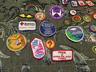 Lot Of Girl Scout Patches And Pins