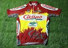 CYCLING SHIRT JERSEY MAGLIA CAMISETA CASINO AG2R NALINI COLNAGO PEUGEOT SIZE 5