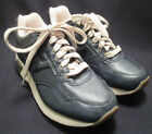 Tommy Hilfiger Athletics Womens 5 1 2 M Navy Leather SneakersArch Support EUC