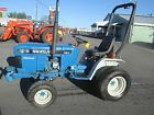 1993 FORD NEW HOLLAND 1215 compact tractor 4x4 16hp diesel turf tires HST used
