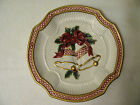 Vtg  Fitz and Floyd Essentials Traditional Style Plate Holiday Christmas Bells