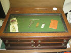 P Coats Country Store 4 Drawer With Glass Lift Top