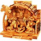 Arched Manger from Olive Wood Nativity Scene Made in Bethlehem