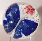 PHENOMENAL Antique AMERICAN Made Frit BUTTERFLY Art Glass Paperweight (Pre 1900)