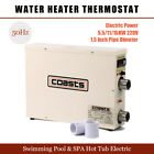 55 11 15KW 220V Swimming Pool  SPA Hot Tub Electric Water Heater Thermostat